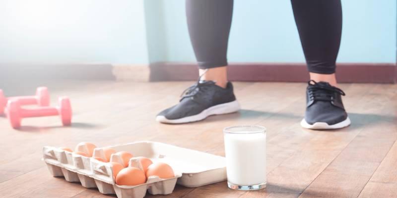 تاثیر رژیم غذایی سرشار از پروتئین بر ساختن توده های عضلانی شکم