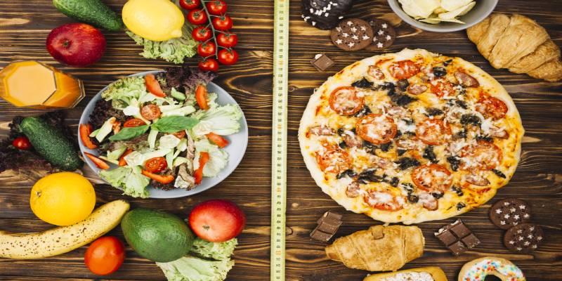 مصرف کالری در رژیم غذایی