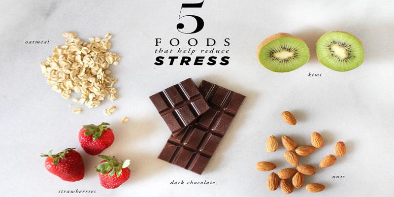 تاثیر مواد غذایی در کاهش استرس