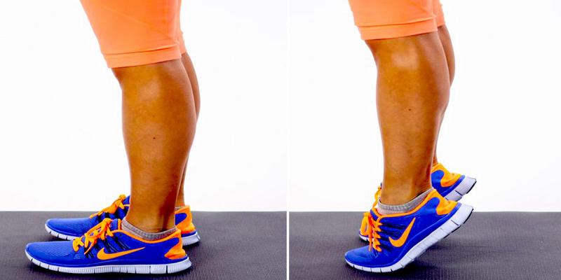 بالا بردن مچ و ساق پا