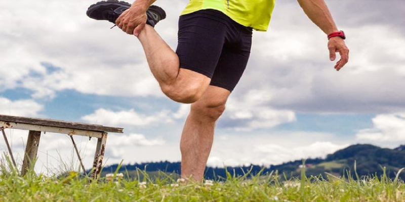 تمرین عضله جلوی پا