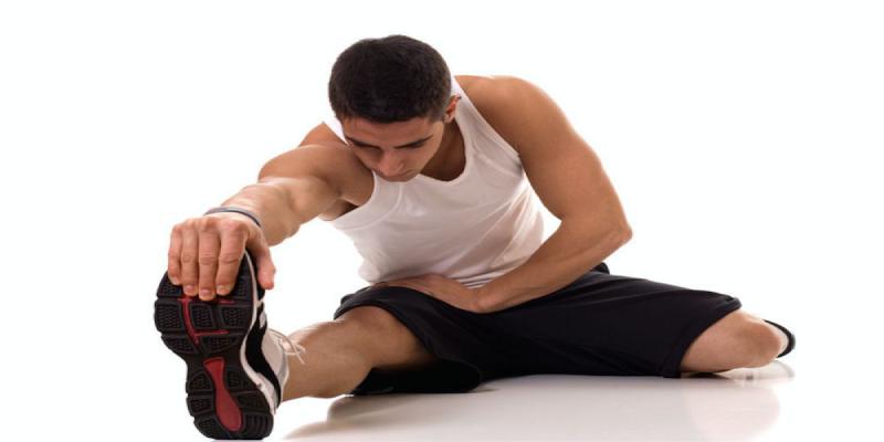 حرکت کشش پای صاف یا کشش عضله همسترینگ (2)
