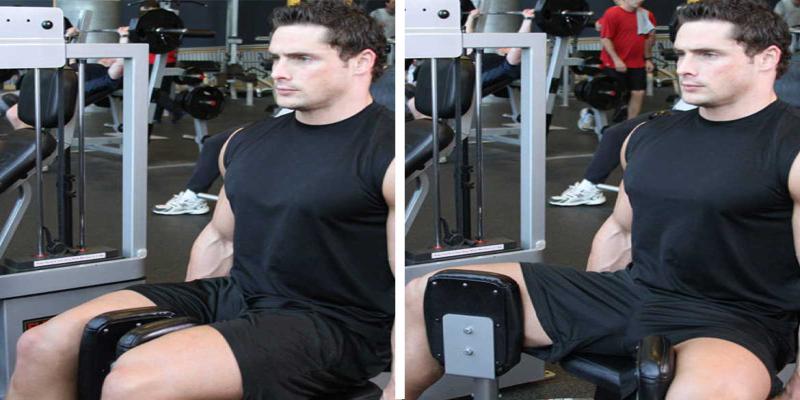 ورزش با استفاده از دستگاه داخل ران