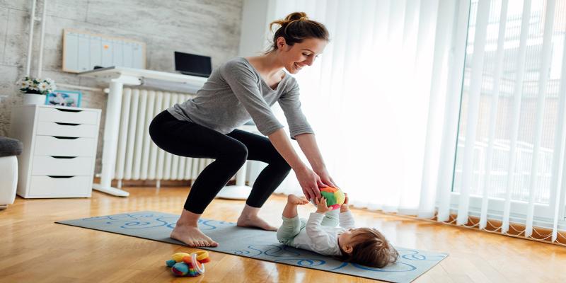 چند وقت بعد از سزارین میتوان ورزش کرد ؟