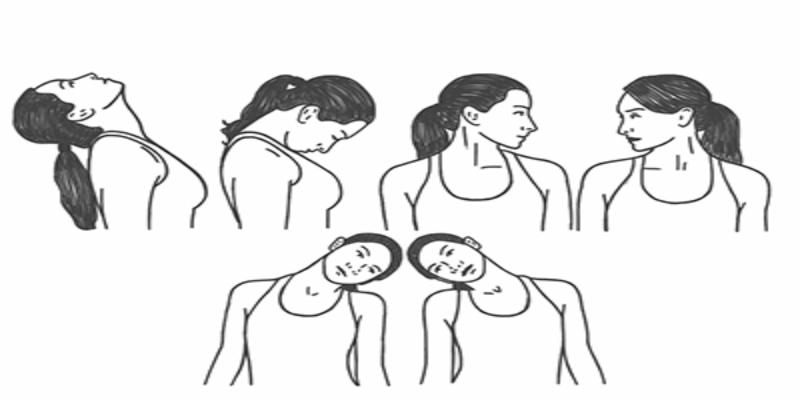 حرکات مناسب برای درد گردن و پیشگیری از ابتلا به گردن درد