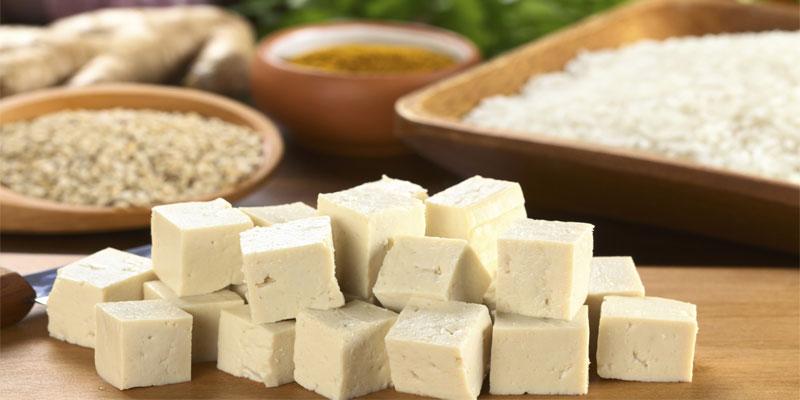 توفو-یا-پنیر-لوبیا